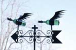 Weathervane for the Winery